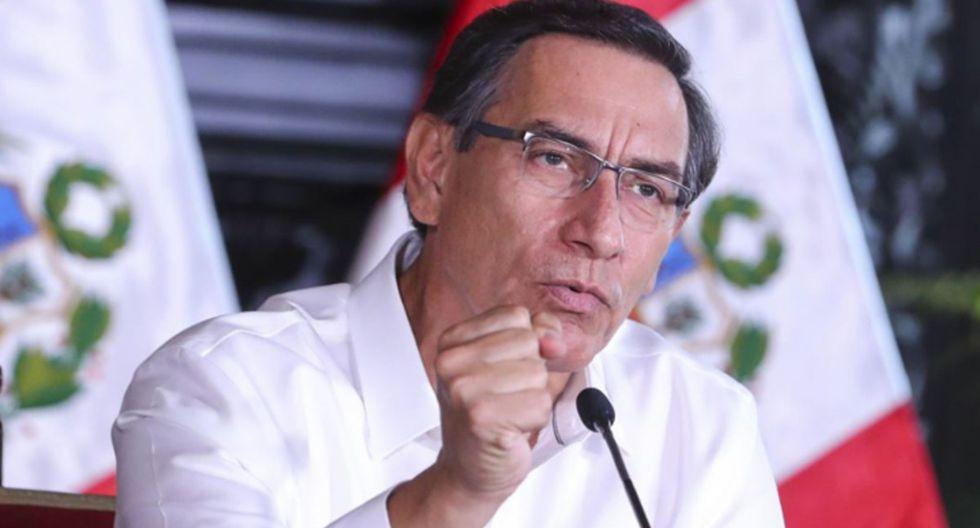 Martín Vizcarra aseguró que el Gobierno defenderá los avances en la reforma política y judicial. (Foto: GEC)