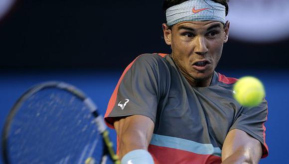 Rafael Nadal promedia más triunfos que nadie en la Era Open del ATP. (AP)