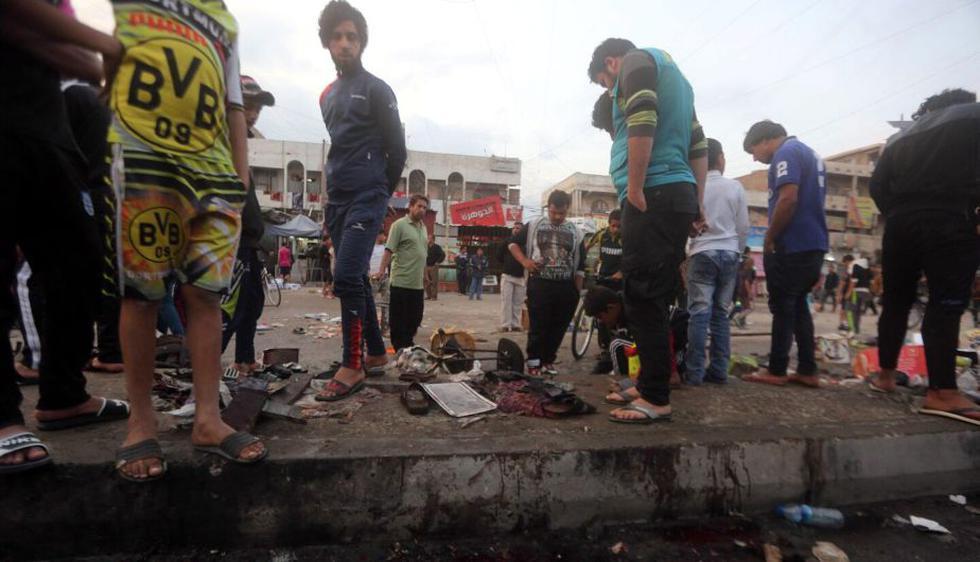Irak: Al menos 30 muertos y 50 heridos en un ataque suicida al sur de Bagdad. (EFE)