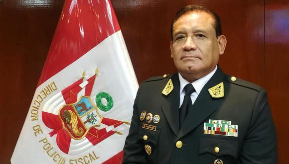 El teniente general Edgardo Garrido ocupaba la subcomandancia de la Policía Nacional. (Difusión)
