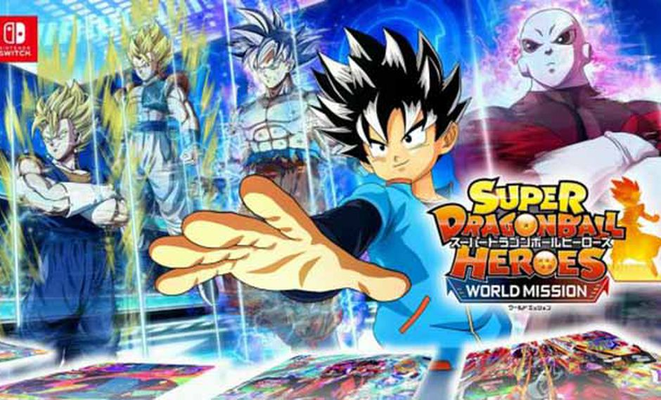 Bandai Namco lanzará 'Super Dragon Ball Heroes: World Mission' en Nintendo Switch el 5 de abril.