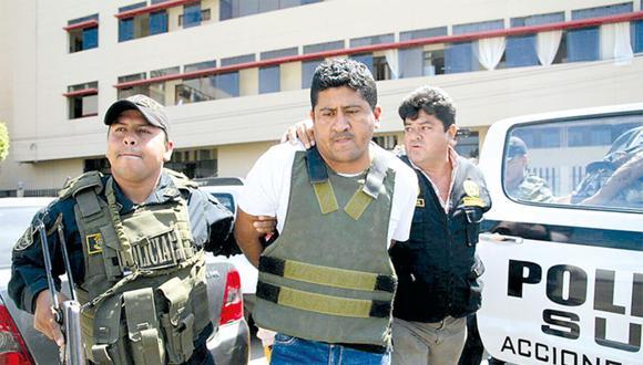 Robinson Castro, 'Tayca', cabecilla de La Nueva Gran Sangre', de Lambayeque.