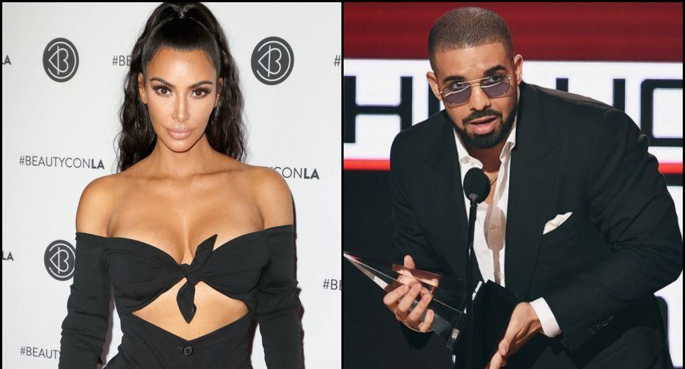 La modelo descartó haber tenido una relación con el rapero Drake. (Foto: Composición/Agencias)