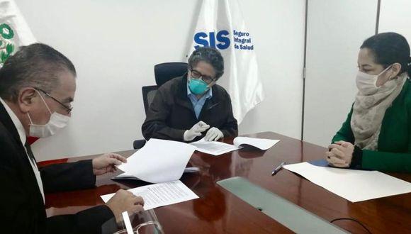 Según el Minsa, el acuerdo se concretó con la firma de forma individual en base al tarifario y los términos de referencia que el SIS hizo público a través de normas legales. (Foto: Ministerio de Salud)