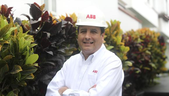 Álvaro Castro es gerente en la empresa ABB Perú. (Foto: Lino Chipana Obregón).