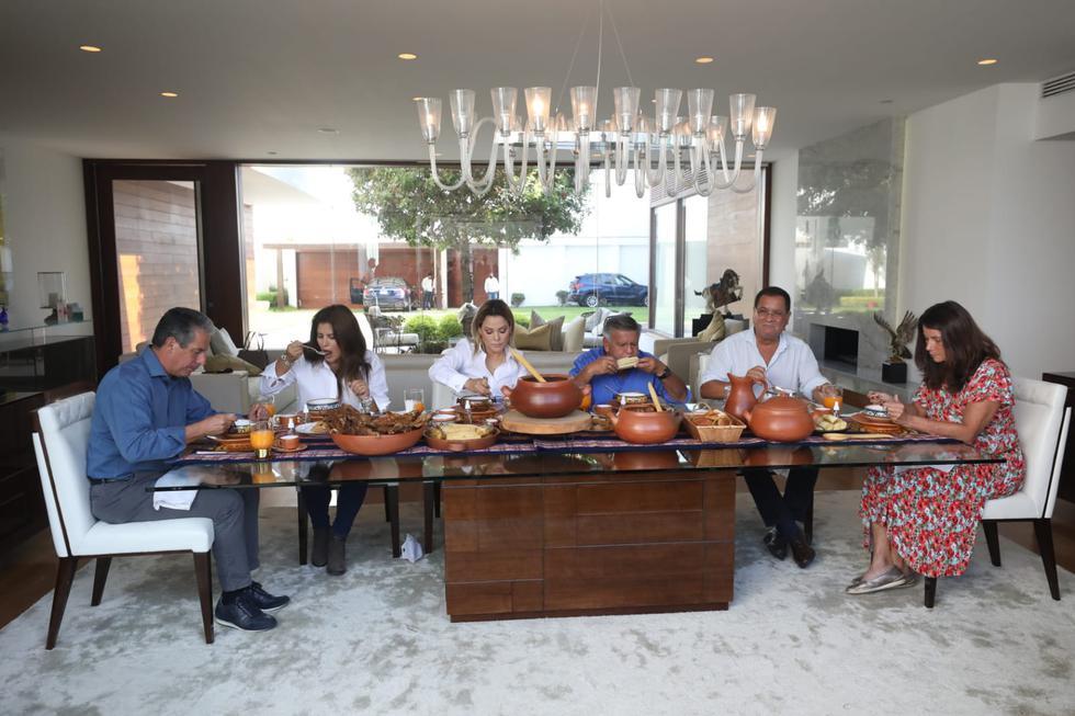 Desayuno Electoral del candidato a la Presidencia César Acuña junto a Carmen Omonte y Luis Ibérico en la Molina. (Fotos Britanie Arroyo / @photo.gec)