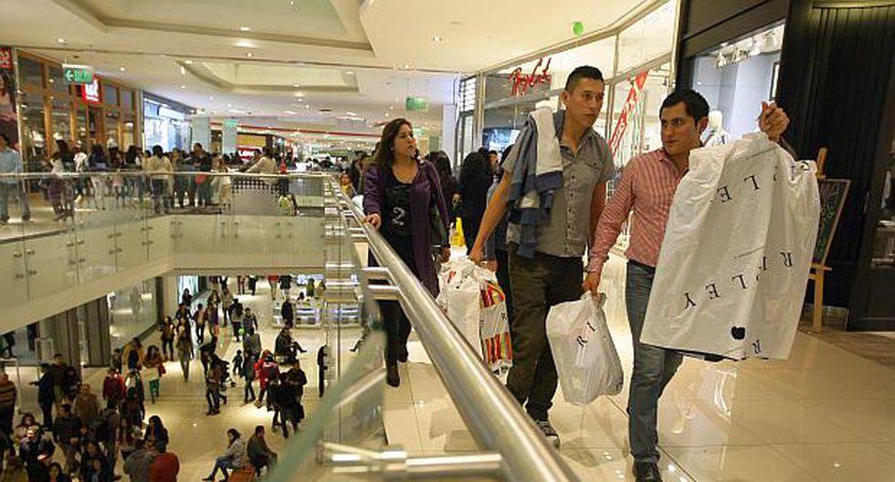 En el país existen actualmente98 centros comerciales. (Foto: El Comercio)