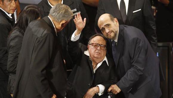 Se emocionó por homenaje. (Reuters)