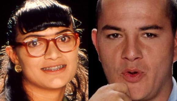 Ana María Orozco y Julián Arango se casaron en 1998, pero cuando empezaron a grabar Betty la fea, el matrimonio terminó (Foto: RCN)
