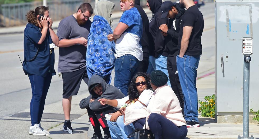 Al menos un herido en tiroteo en colegio cerca de Los Ángeles. (AFP)
