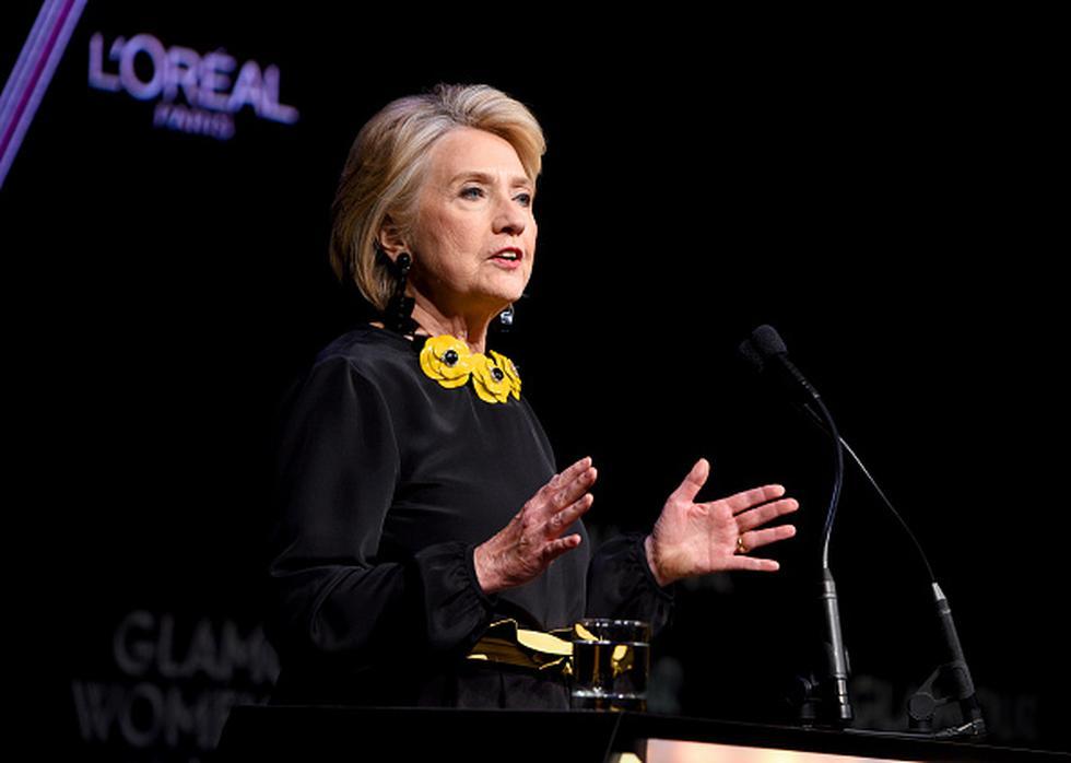 Hillary Clinton ya no es la mujer más admirada en EE.UU., fue destronada por otra primera dama. (Getty)
