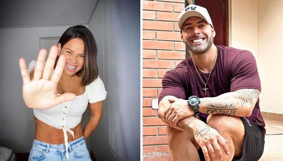 Sebastian Lizarzaburu y Andrea San Martín tienen una hija llamada Maia y pese a las peleas del pasado, hace una semana retomaron su relación. (Foto: Instagram @mama.porpartidadoble / @sebaslizar).