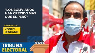 Yonhy Lescano candidato presidencial por Acción Popular