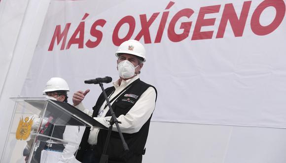 En Moquegua, Southern Perú realizó la donación de 20 toneladas diarias de oxígeno. (Foto: Flickr Presidencia)