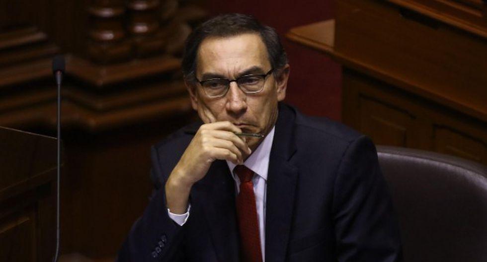 Martín Vizcarra es investigado por el presunto delito contra la administración pública, en la modalidad de negociación incompatible. (Foto: GEC)