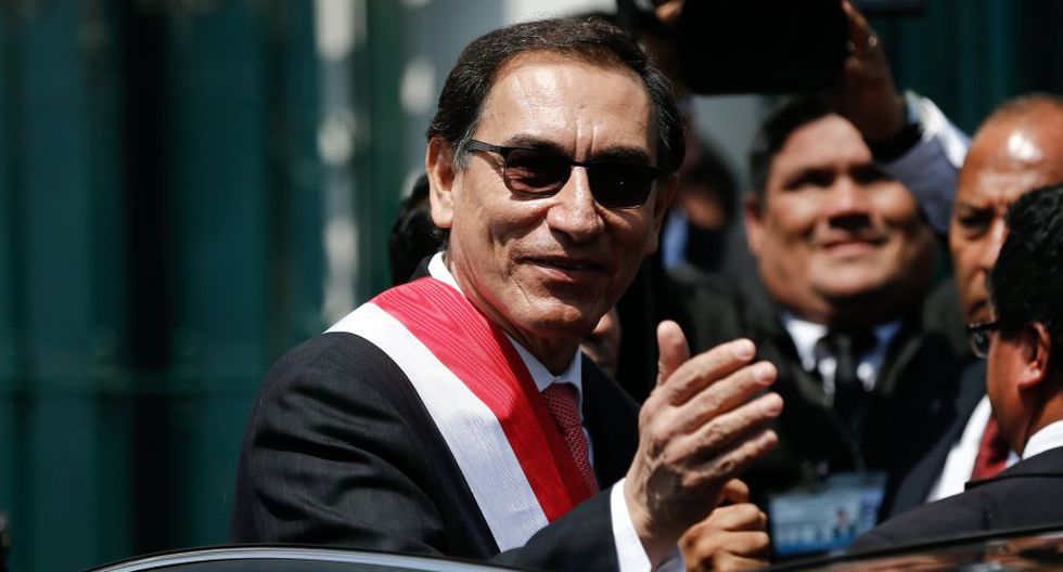 """Martín Vizcarra: """"Todas las semanas estaré en los sitios más alejados del Perú"""". (RenzoSalazar/Perú21)"""