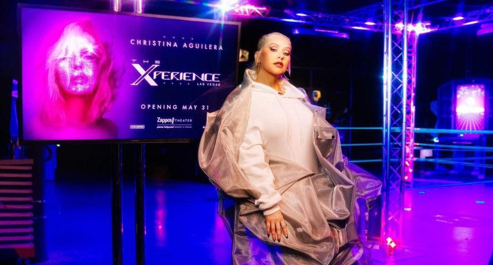 Christina Aguilera iniciará su residencia en Las Vegas en mayo (Foto: Instagram)