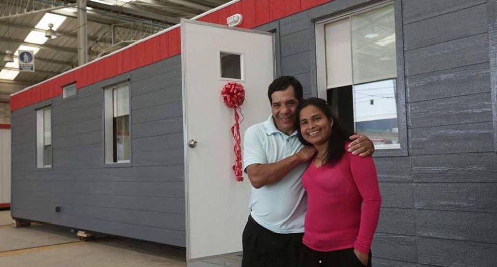 Evangelina Chamorro tiene una nueva casa donde podrá continuar su vida tras el huaico de Punta Hermosa. (Anthony Niño de Guzmán)