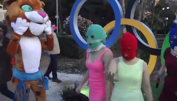 Pussy Riot dedica videoclip a Vladimir Putin. (Captura YouTube)