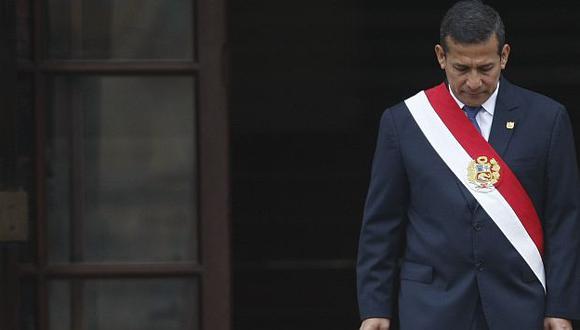 Aseguran que Ollanta Humala solo es un presidente de rutina. (Luis Gonzales)