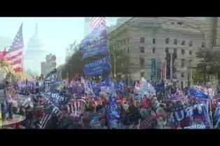 Seguidores de Trump se reúnen en Washington para denunciar fraude sin pruebas