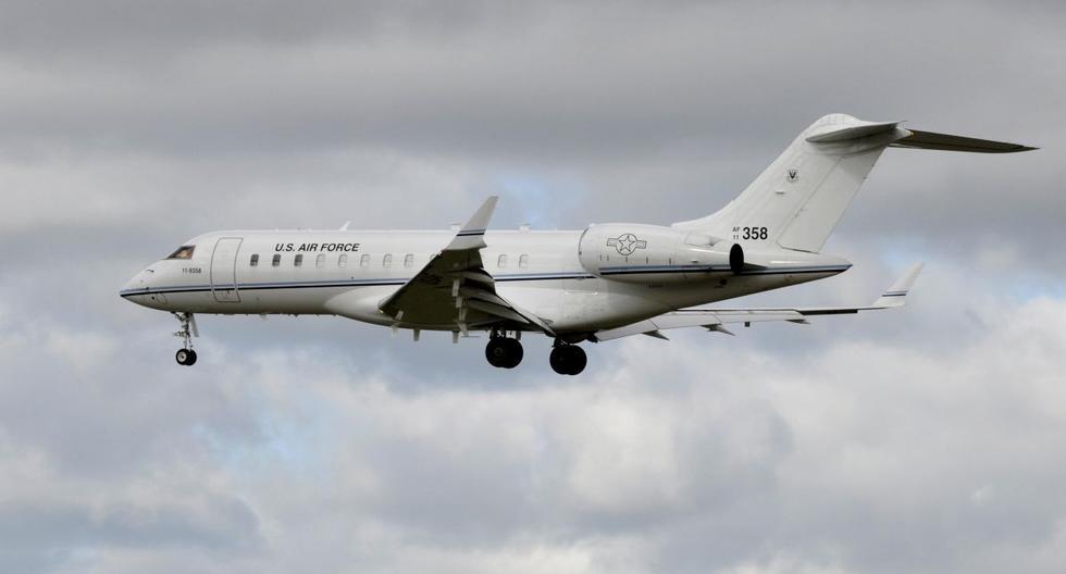 El vocero de las fuerzas armadas estadounidenses en Afganistán dijo que el avión militar, un Bombardier E-11A. (EFE)