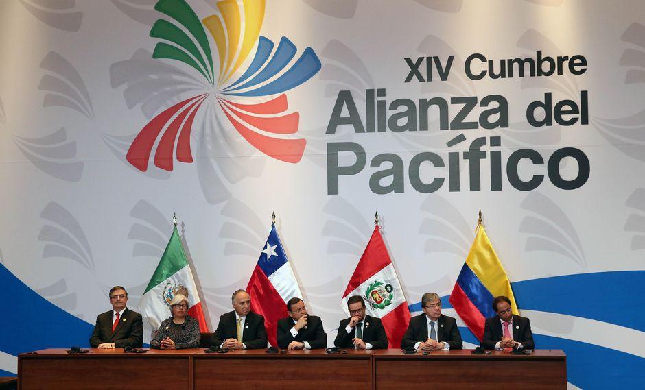 Los cuatro socios de la Alianza del Pacífico tienen en conjunto 225 millones de habitantes y representan el 38% del PBI de América Latina. (Foto: EFE)