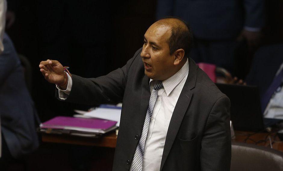 El vocero de Nuevo Perú, Richard Arce, cuestionó que busquen sancionar por 120 días a su colega de bancada Manuel Dammert. (Foto: USI)