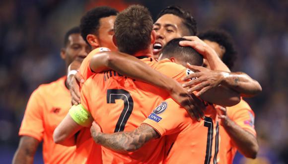 Liverpool suma 5 puntos en la cima del Grupo E. (EFE)