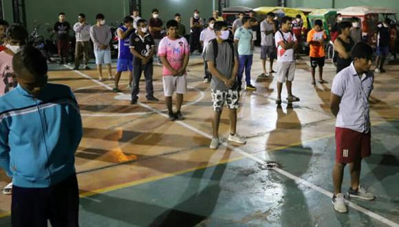 El lunes fueron detenidos un total de 580 personas en la región La Libertad. (Foto: Gobierno regional de La Libertad)