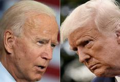 Duelo Trump-Biden a distancia por TV en una campaña otra vez alterada por el COVID-19