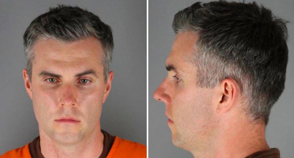 Thomas Lane está involucrado en el asesinato de George Floyd. (Reuters)