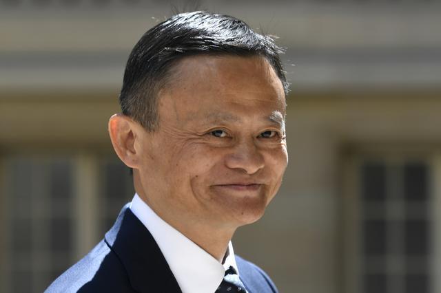 Jack Ma es el cofundador del grupo Alibaba y uno de los hombres más ricos de China. (Foto: Bertrand GUAY / AFP).