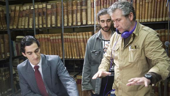 Eduardo Camino encarna al ex procurador anticorrupción, José Ugaz. Eduardo Guillot es el director y guionista del filme (Difusión).