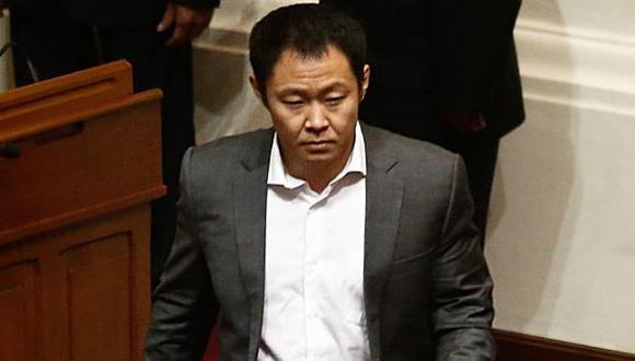 Kenji Fujimori en contra de la pena de muerte. (USI)
