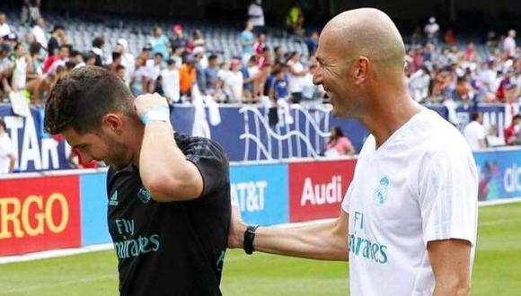 Zinedine Zidane bajó dedo a su hijo y lo sacó del Real Madrid.