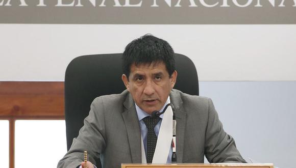 El juez Richard Concepción Carhuancho deberá evaluar el pedido de prisión preventiva contra Keiko Fujimori y otros 10 investigados por parte de la fiscalía. (Foto: Andina)