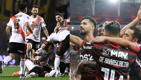 River o Flamengo. Uno de los dos será el campeón de América. (GETTY)