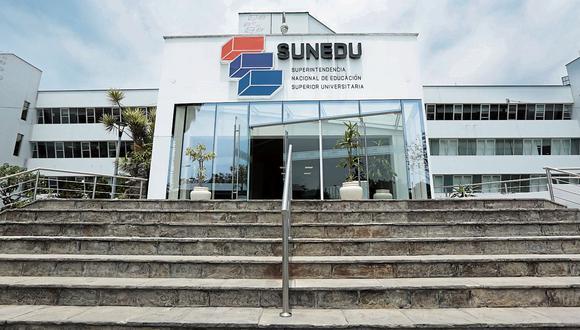Entidad. Proceso de licenciamiento de la Sunedu incio en 2015. (Diana Chavez)