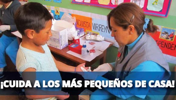 Las regiones Puno, Madre de Dios y Apurímac encabezan el ranking con más niños afectados por la enfermedad. (USI)