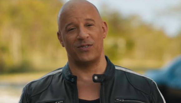 """Vin Diesel protagoniza un nuevo clip de """"Rápidos y Furiosos 9"""" hablando en español. (Foto: Captura de video)"""