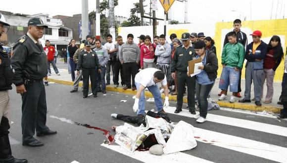 VENDETTA. Se investiga si la muerte del muchacho guarda relación con el asesinato de su tío. (Oswaldo Cabrera/USI)
