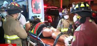 Persecución policial durante el toque de queda dejó dos mujeres heridas
