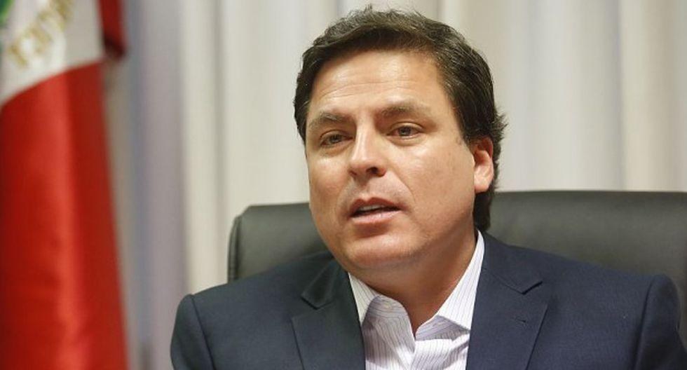 "Edmundo del Águila afirmó que Urresti ""es una persona que constantemente golpea"" al alcalde de Lima, Jorge Muñoz. (Foto: GEC)"