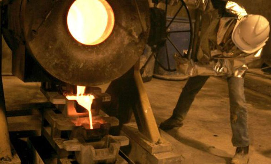 Producción de oro se recuperó en noviembre. (Difusión)