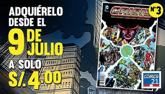 Perú21 te trae la tercera entrega de 'Crisis on Infinite Earths'. (Perú21)