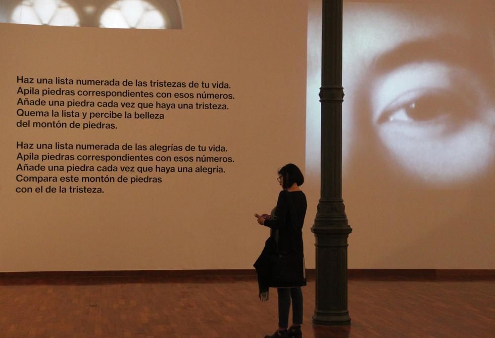 'Universo libre' es una exposición retrospectiva de la activista japonesa (MALI).