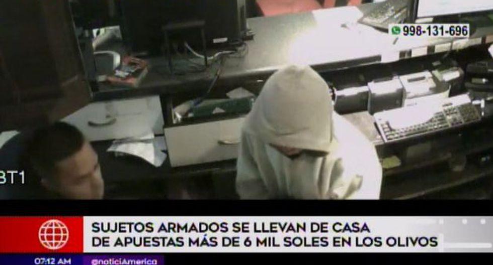 Las investigaciones están a cargo de la comisaría Sol de Oro, en Los Olivos. (Foto: Captura/América Noticias)