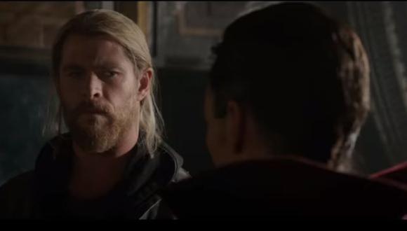 Trailer de Thor: Ragnarok muestra a Dr. Strange (Captura)