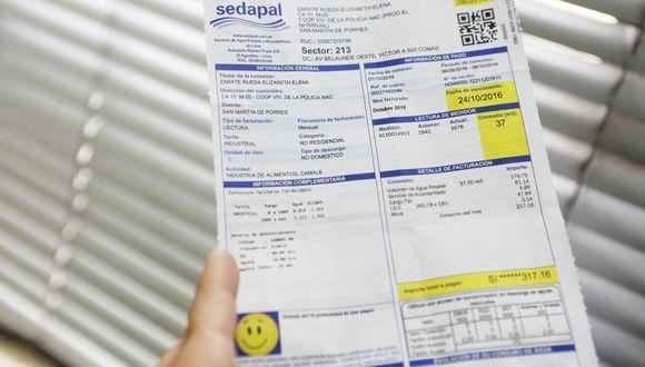 Todas las plataformas virtuales se encuentra en el portal web de Sedapal. (Foto: GEC)